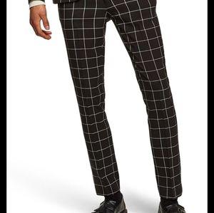 H&M Windowpane Pants